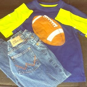 Boys size five outfit!